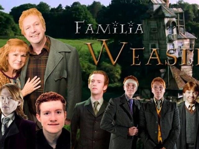 Qual Weasley você seria?