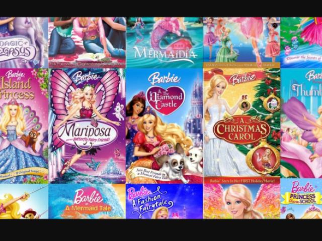 Adivinhe o filme da Barbie pela música