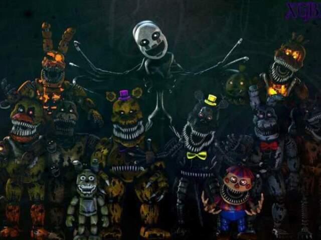 Será que você sabe tudo sobre Five Nights at Freddy's 4?