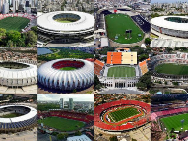 |<<< Você conhece alguns estádios de futebol? >>>|
