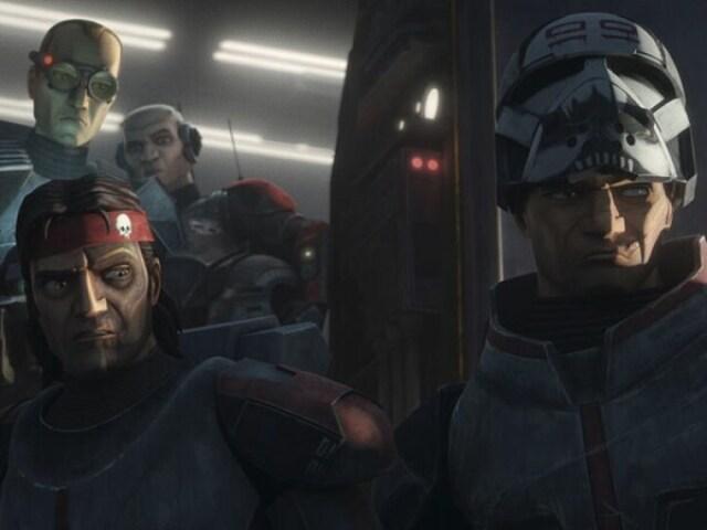 Tu sabes o nome do que apareceu em Star Wars: The Bad Batch - Episódio 1? (Personagens, organizações, armas...)