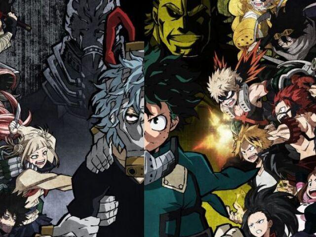 Boku no Hero: Você conhece esses personagens?