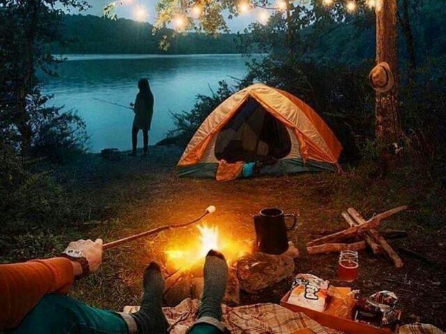 Monte seu acampamento perfeito!