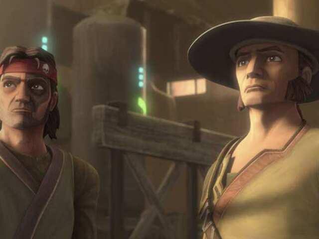 Tu sabes o nome do que apareceu em Star Wars: The Bad Batch - Episódio 2? (Personagens, organizações, armas...)