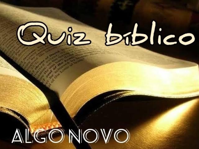 Quiz bíblico (Algo Novo)
