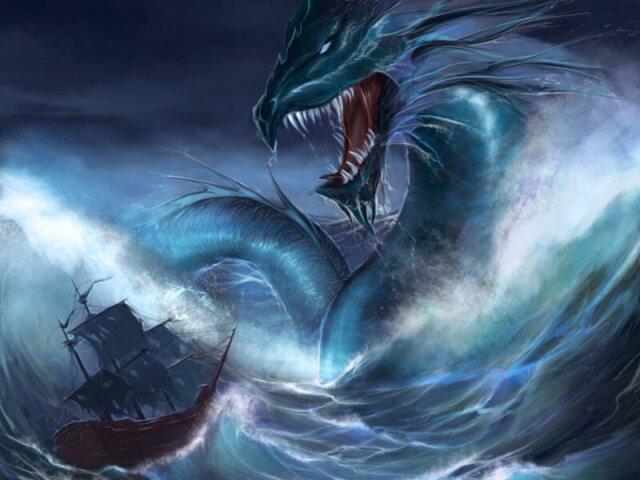 Qual monstro aquático você é?