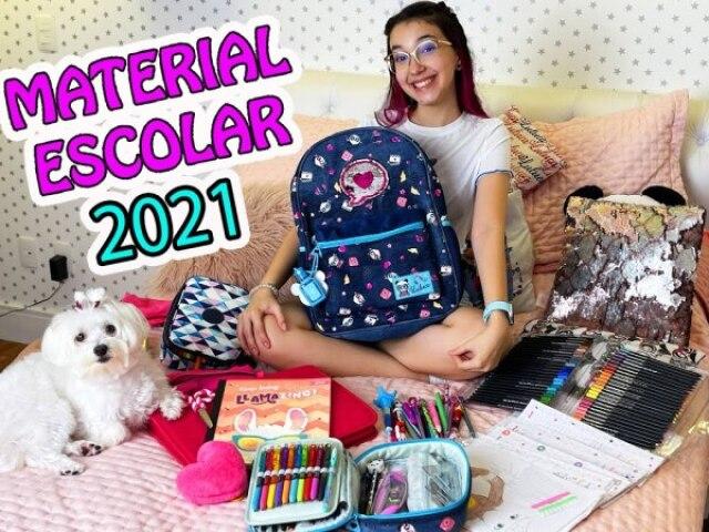 Qual é seu material escolar 2021