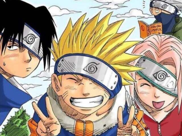 """""""Naruto"""" -~Quem você seria do time 7?~-"""
