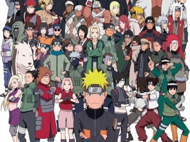 Quem você seria de Naruto?