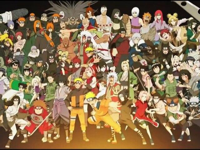 Quiz sobre Naruto e todos os outros personagens!