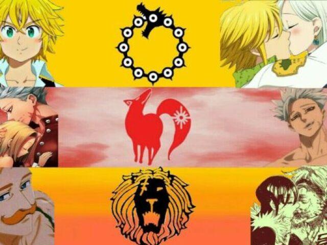 Quem você seria em Nanatsu no Taizai?