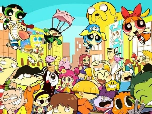 Você sabe o nome dos desenhos do Cartoon Network 2000?