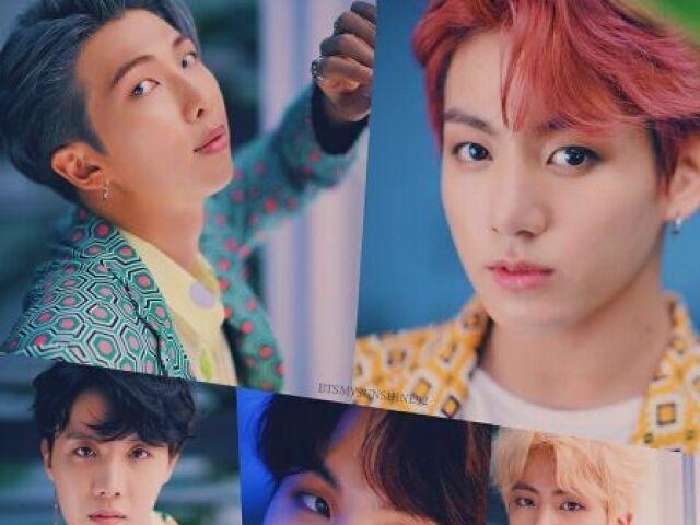 Acerte os MV do BTS