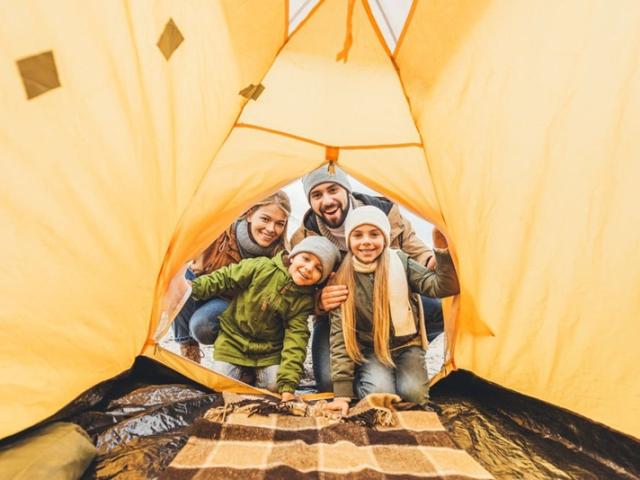 Monte seu acampamento ❤️🐼