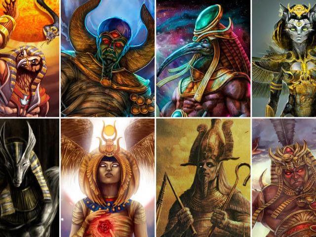 Que deus egípcio você é?