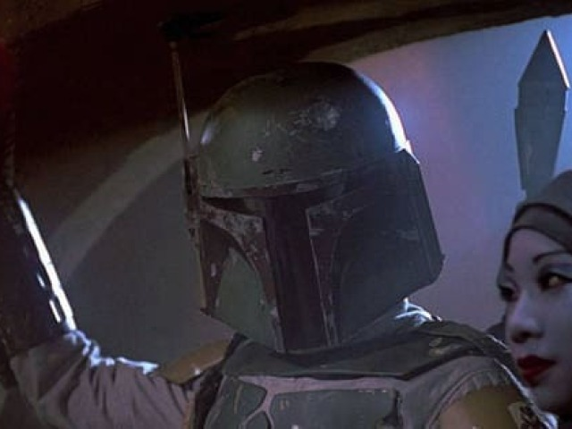 A quem pertence esta arma em Star Wars?