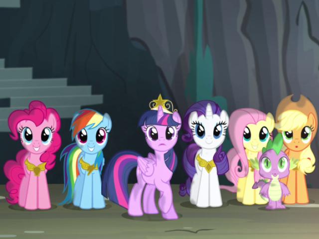 Quem você seria em My Little Pony?