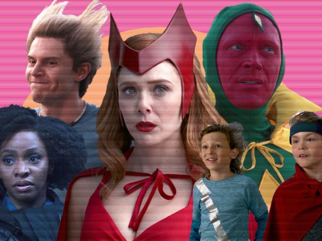 Você sabe quem são esses personagens de Wandavision?