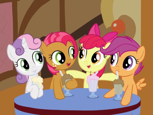 Qual potrinha você seria em My Little Pony?