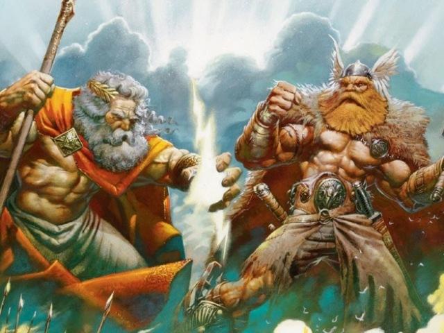 Quiz Mitologia Grega x Mitologia Nórdica