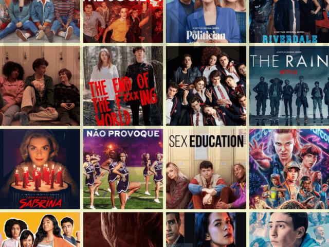 Quais séries/filmes você conhece?