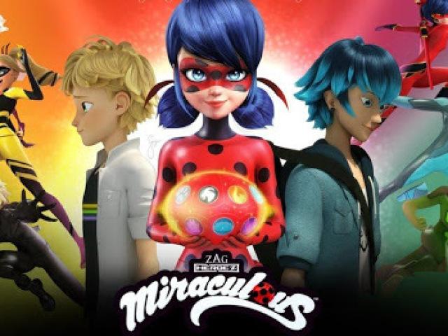 Você sabe todos os personagens de Miraculous Ladybug?