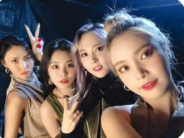 Você conhece os grupos de k-pop? Versão (girlgroup)
