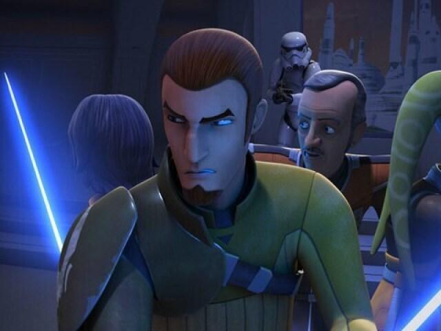 O que tu preferiste na 1º temporada de Star Wars: Rebeldes?
