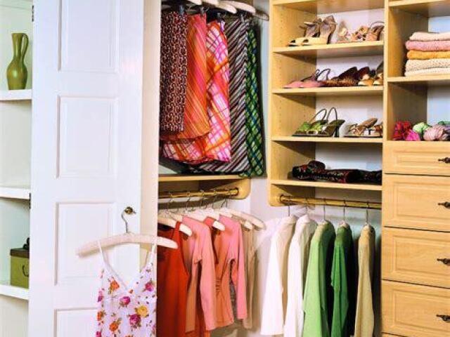 Monte o seu closet