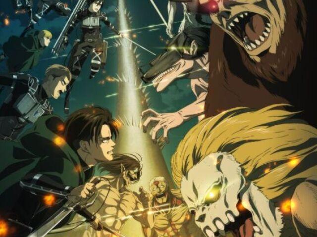 Quem você seria em Attack on Titan?♥