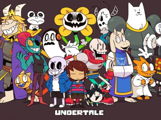 Qual personagem de Undertale você seria?