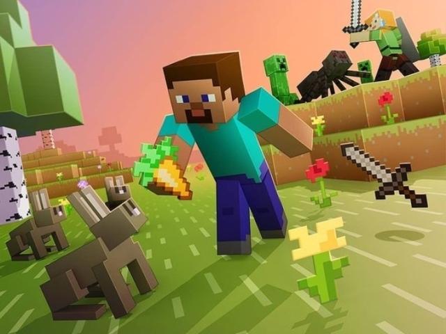 Minecraft, o jogo do momento