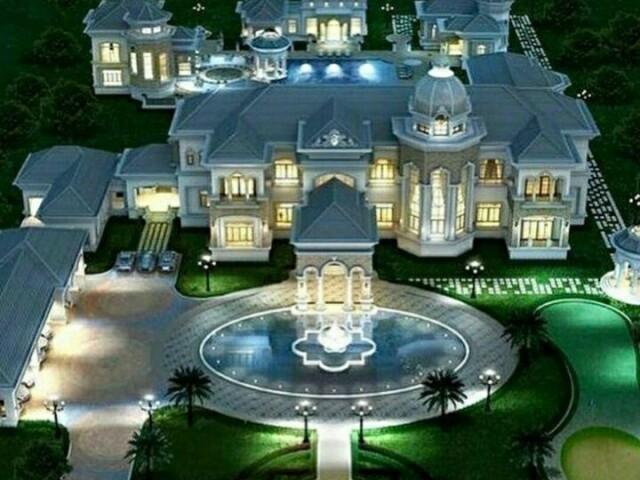 Monte sua linda mansão dos sonhos!