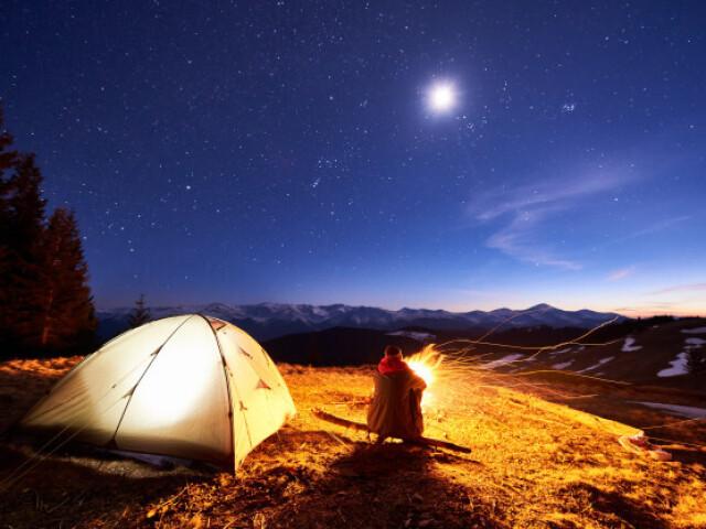 Monte seu acampamento 📕📗📘