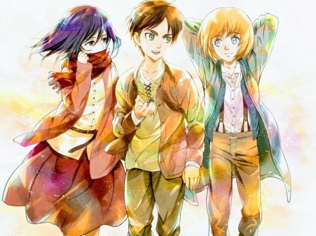 🍒 Quem você seria no trio de AoT? 🍒