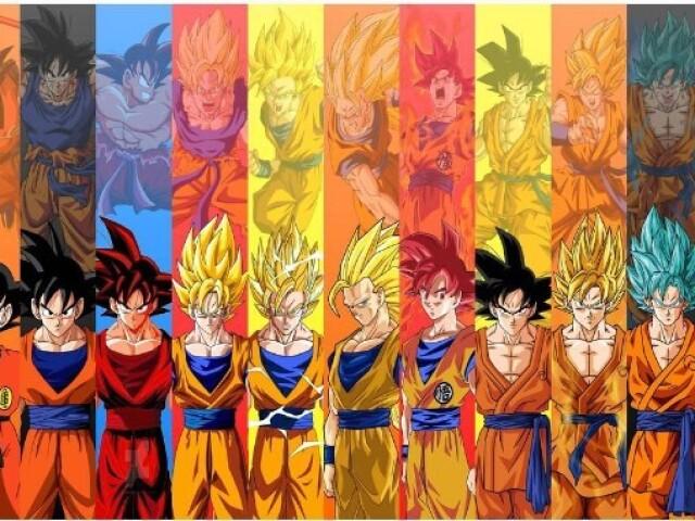 Você conhece todas as formas/transformações de Dragon Ball?