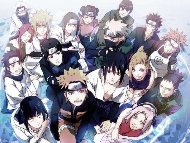 Quem você prefere? (versão Naruto)🍓