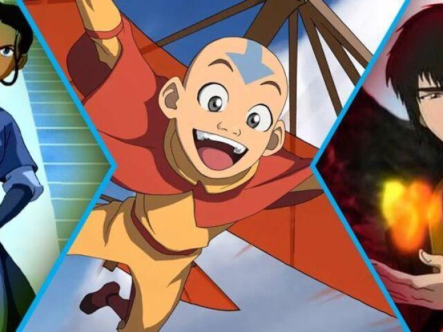 Você conhece Avatar: A lenda de Aang?