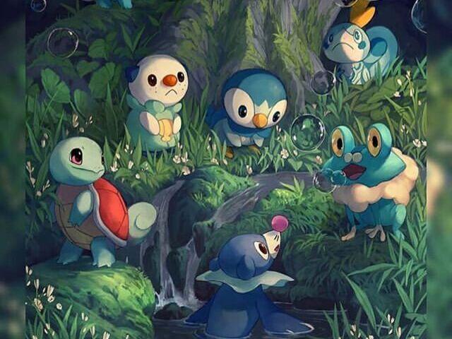 Qual Pokémon tipo água você seria?