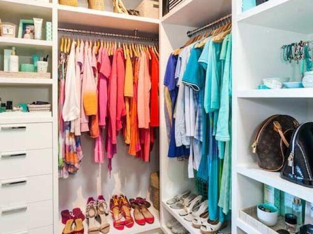 ☕Monte seu closet colorido☕