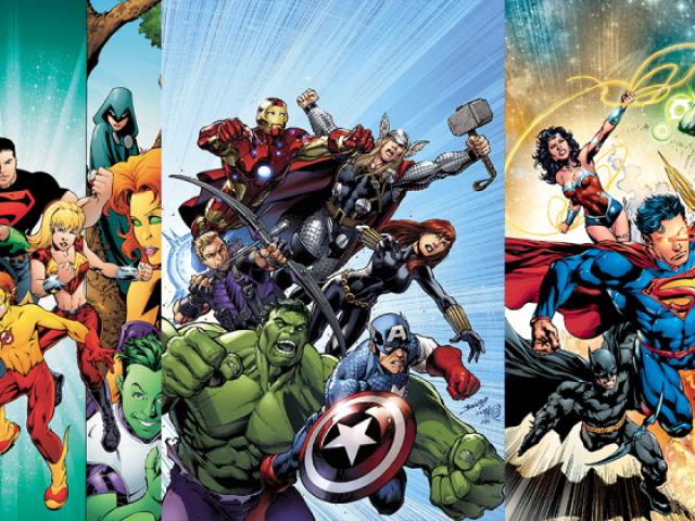 De qual grupo de heróis você seria?