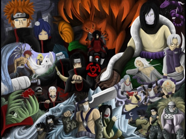 Que vilão de Naruto você seria?