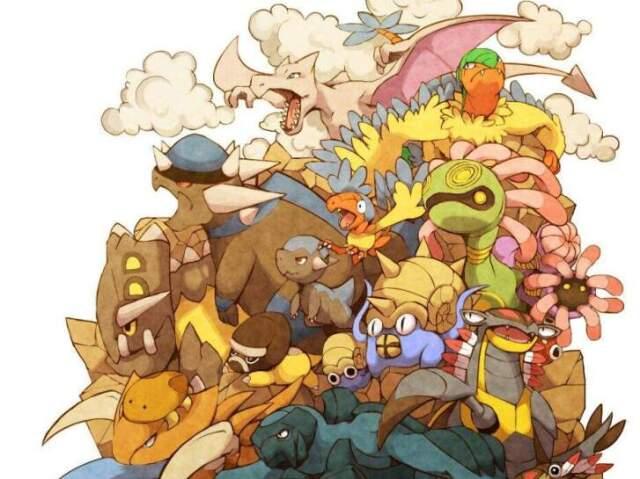 Qual Pokémon pré-histórico você seria?