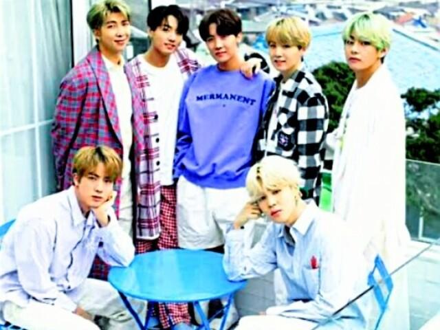 Quem você seria se fosse um dos integrante do BTS?