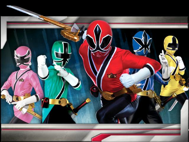 Quem você seria em Power Rangers Samurai?