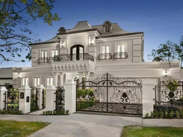 Monte sua clássica e linda mansão dos sonhos!