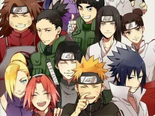 Acerte os personagens de Naruto (hard)