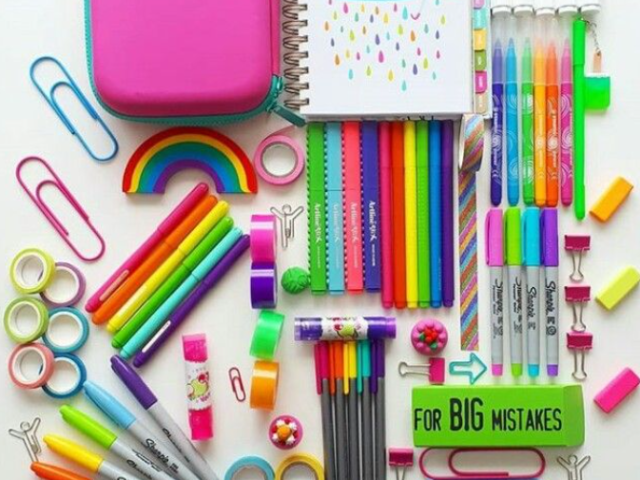 Qual é o teu tipo de material escolar?