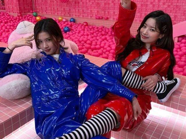 Você seria mais Sana ou Dahyun?