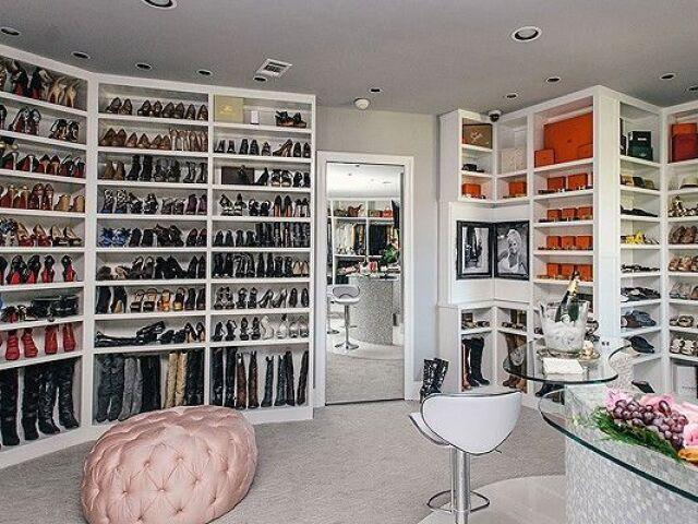 Monte sua coleção de sapatos